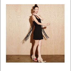 Bobi fringe dress